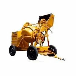 Stand Type Concrete Mixer Machine