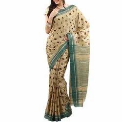 Cotton Party Wear Ladies Casual Saree