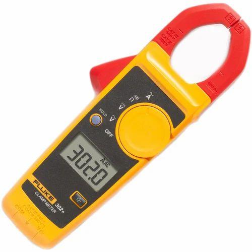 Fluke 302 Plus Digital Clamp Meter Warranty 1 Year Rs