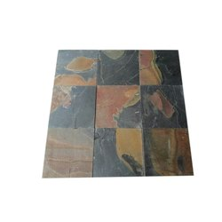 Plain Jack Multi Slate Wall Tile, Size: 12 x 12 inch, Thickness: 8-14 mm