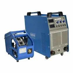 Rajdeep Three Phase MIG 400 Welding Machine, AC 380V+/-15%, Current: 300-400 A
