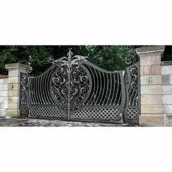 Cast Iron Entrance Gate