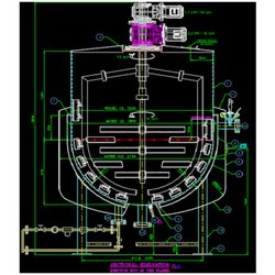 Scrapper Tank Design And Detailed Drawing Service