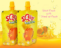 SQeeze Mango Drink printed spout pouches