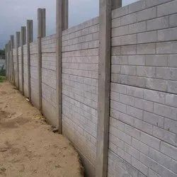 Factory RCC Compound Wall