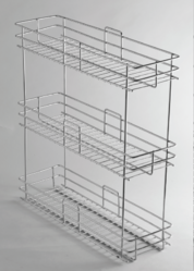 Bottle Pullout 3 Shelves