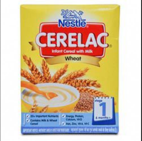 nestle cerelac wheat stage 1 rs 152 pack murugan super market