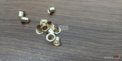 No. 4050 Mild Steel Eyelets Nickel