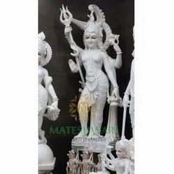 Shiv Ji Marble Statue