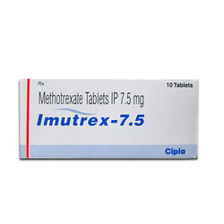 7.5 mg Imutrex Methotrexate Tablets IP