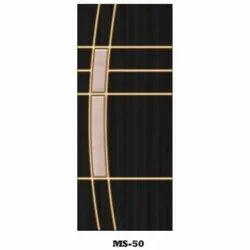 Wood Black Laminated Classic Door
