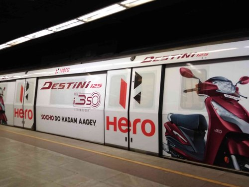 DMRC Delhi Metro Advertising