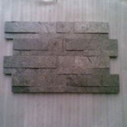 Silver Grey Slate Ledge Stone Panels