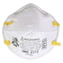 3M 8210 N95 Respirator Dust Mask