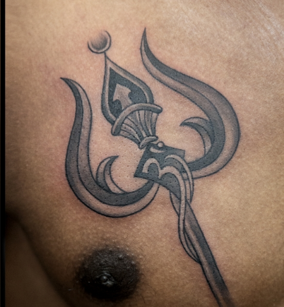 81cd190e3 Lord Shiva Trishul Tattoo, Temporary Tattoos, बॉडी टैटू ...