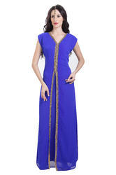 Tea Party Evening Wear Night Dress For Ladies