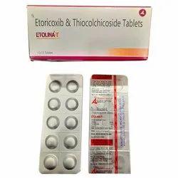 Etoricoxib & Thiocolchicoside Tablets