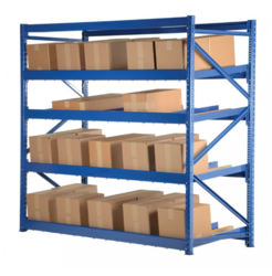 Warehouse Slotted Angle Storage Racks