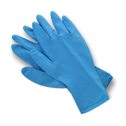 Vinyl Blue Doctor Hand Gloves