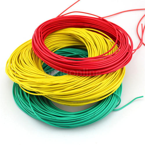 Red And Yellow Domestic Electric Wire, 240 V, Rs 1700 /roll | ID ...