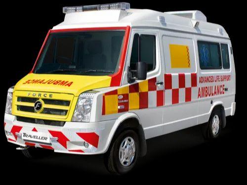 Force Traveller 3350 WB AC Cardiac Ambulance