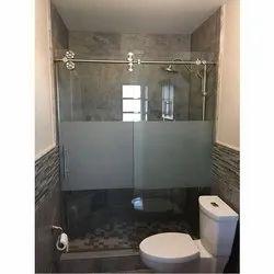 Transparent Tempered Shower Glass