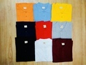 Mens Cotton Plain Collar T-shirt