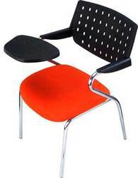 Student Chair With Folding Pad Cushioned Seat