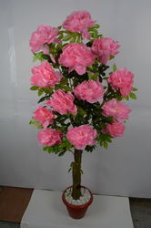 Artificial Pink Flower Plant