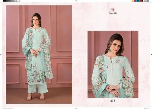 Sudriti Timeless Flower Beautiful Printed Salwar Suits