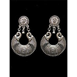 Oxidized Stud Earrings