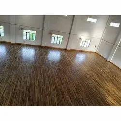 Matte Handball Wooden Court Service