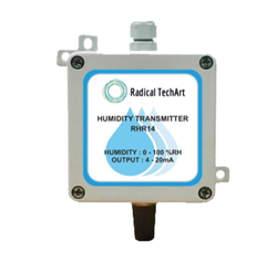 Humidity Transmitter for Industrial, Model Name/Number: RHR14