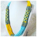 Party Wear Artificial Beaded Necklace