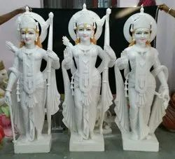 3 fit Marble Ram Darbar Statue