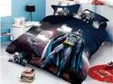 Cartoon Prints Cotton Comforter With Bed Sheet