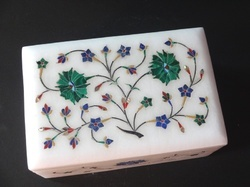White Marble Box For  Home Decorative