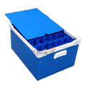 Polypropylene Plastic Corrugated Boxes , Material Grade(gsm) : 250 - 2600 Gsm