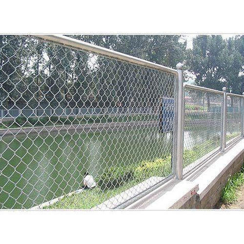 Stainless Steel Chain Link Fencing At Rs 160 Running Feet
