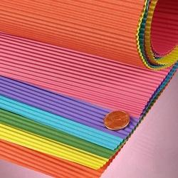 Colored Corrugated Paper Sheet