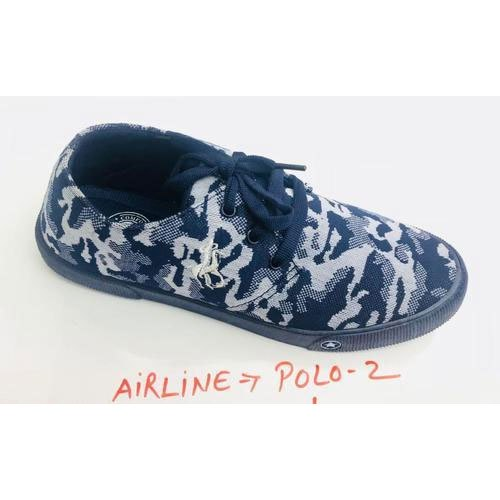 Airline Printed Canvas Casual Shoes Packaging Type Box Model Name