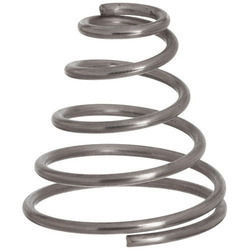 Aman Spring Compression Stainless Steel Conical Springs, for Industrial