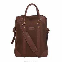 Faux Leather Executive Portfolio Bag