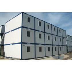 Steel Prefabricated Temporary Warehouse Building