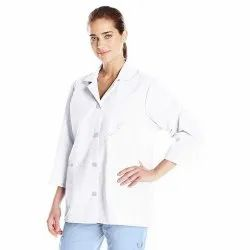 Lab Coat White Smock Sleeve