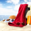 Travel Beach Bag with Beach Towel