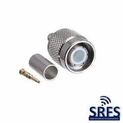TNC Male Crimp Connector for RG 58 Cable