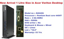 i3 Acer Veriton Desktop, Windows, Screen Size: 19