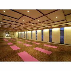 Unique Sports Yoga Hall Flooring
