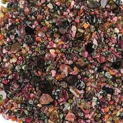 Natural Raw Multi Tourmaline Polished Slices Assortment loose Rough Gemstones